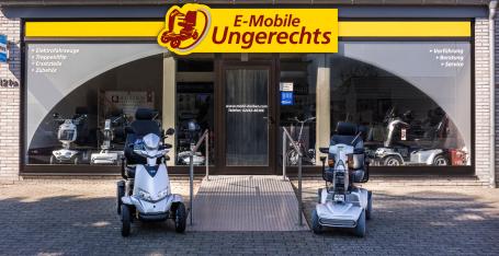 Ausstellung Geschäft Laden Elektromobil Seniorenmobil Scooter E-Mobile Ungerechts Heinsberg Karken